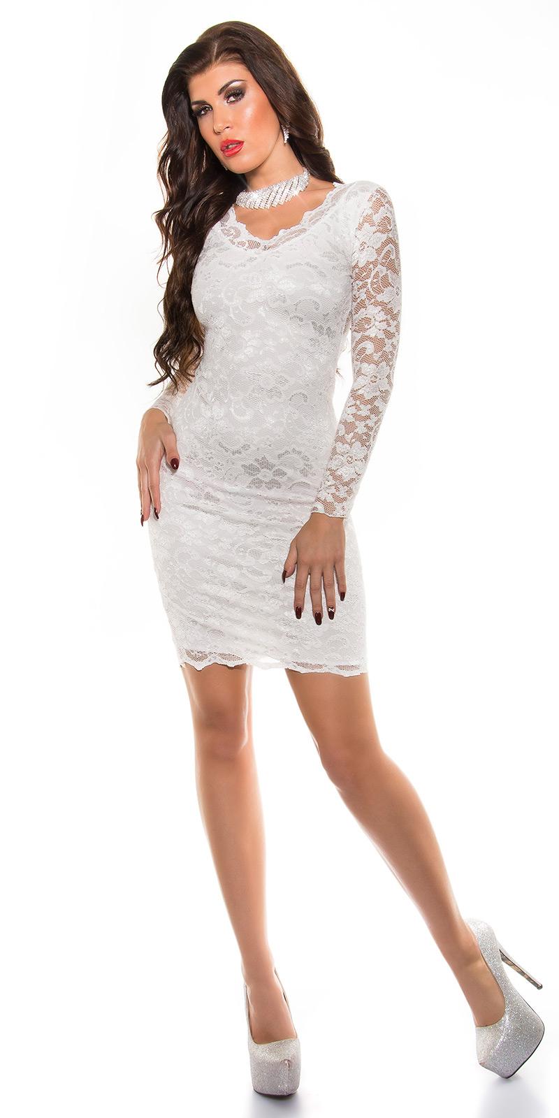 8a3c1d8816 MB24X  Biała sukienka koronkowa    Deme.pl